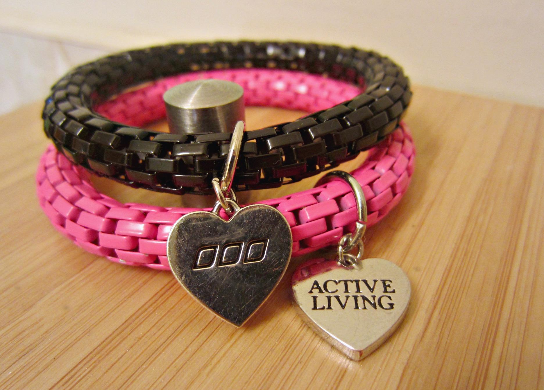Lorna Jane active living bracelets