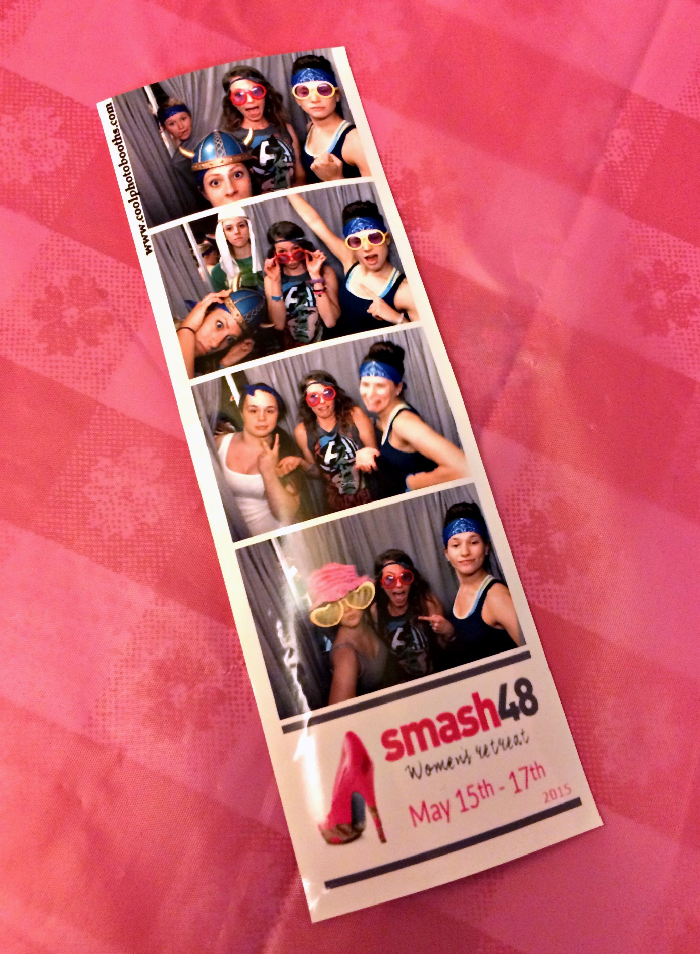 SMASH 48 photobooth