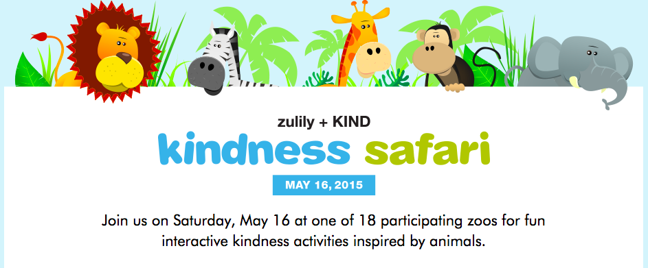 KINDness safari at the zoo