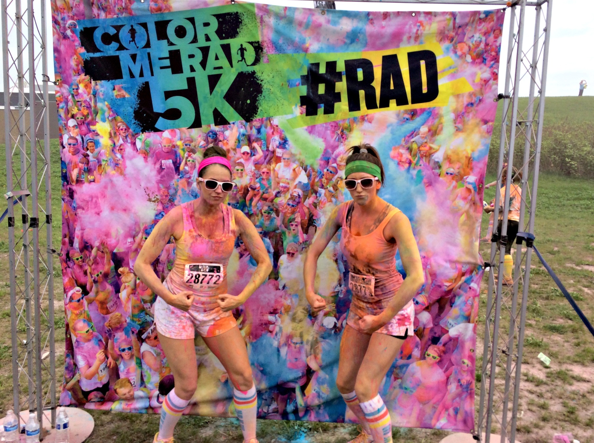 color me rad 5k #rad detroit 2015