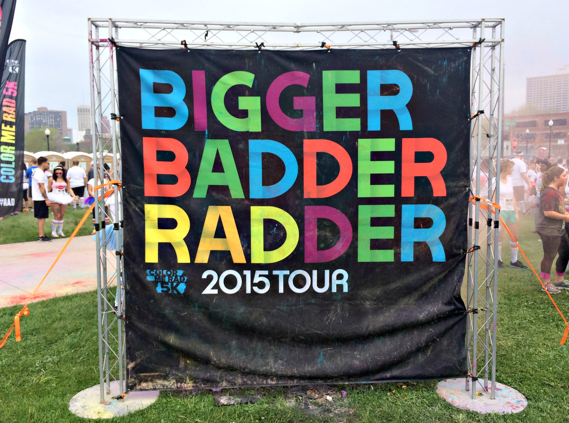 color me rad Bigger Badder Radder 2015 tour