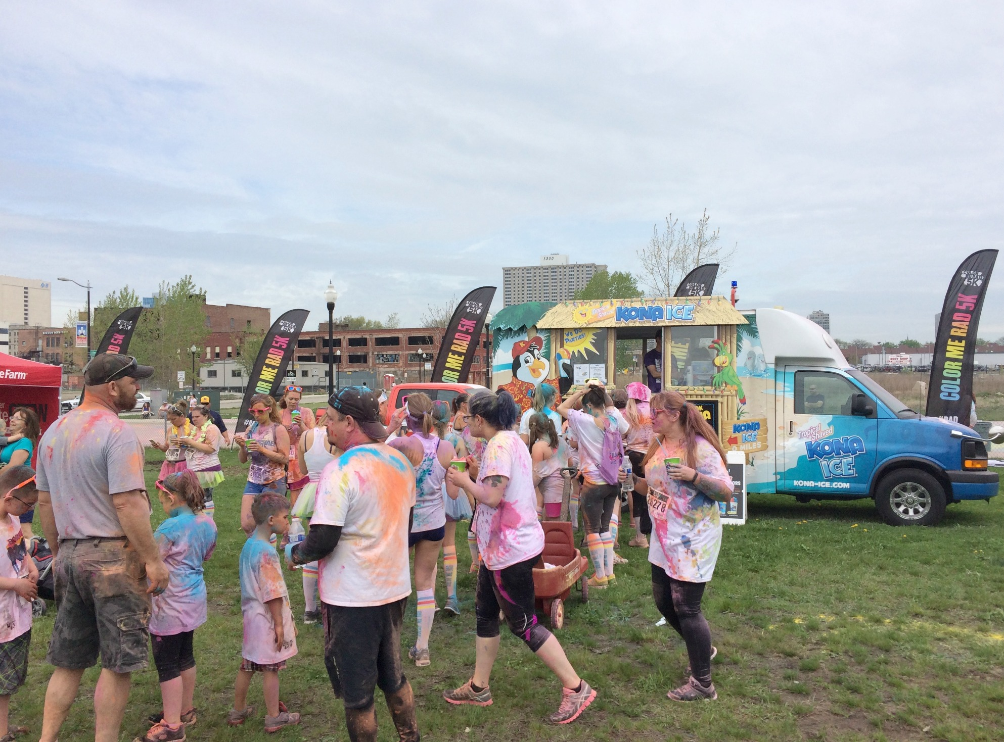 color me rad food trucks