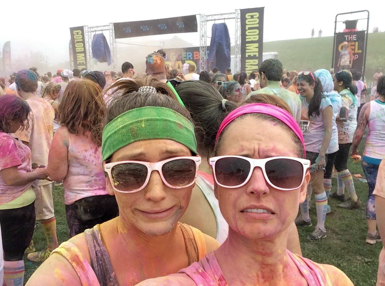color run aftermath