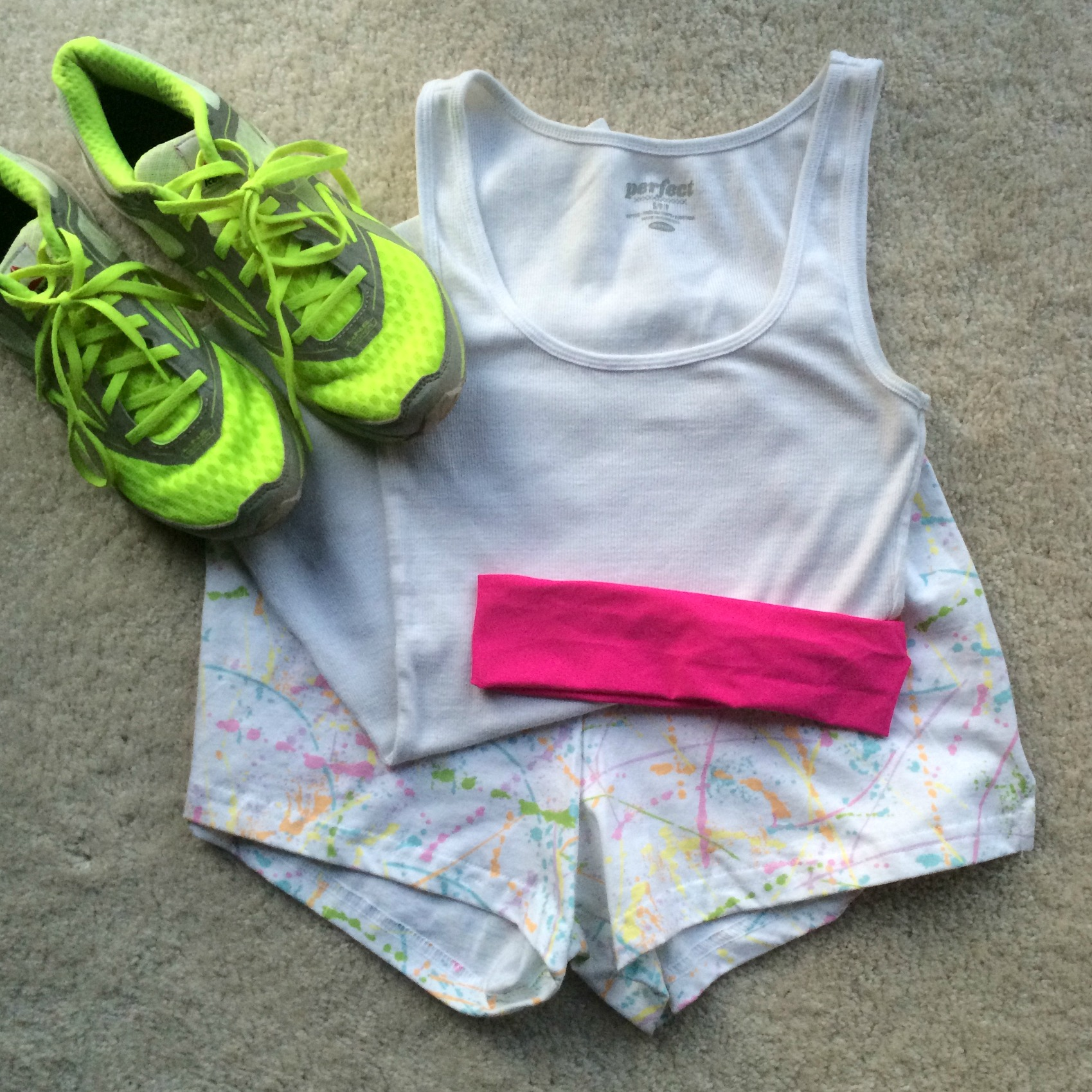 color run outfit