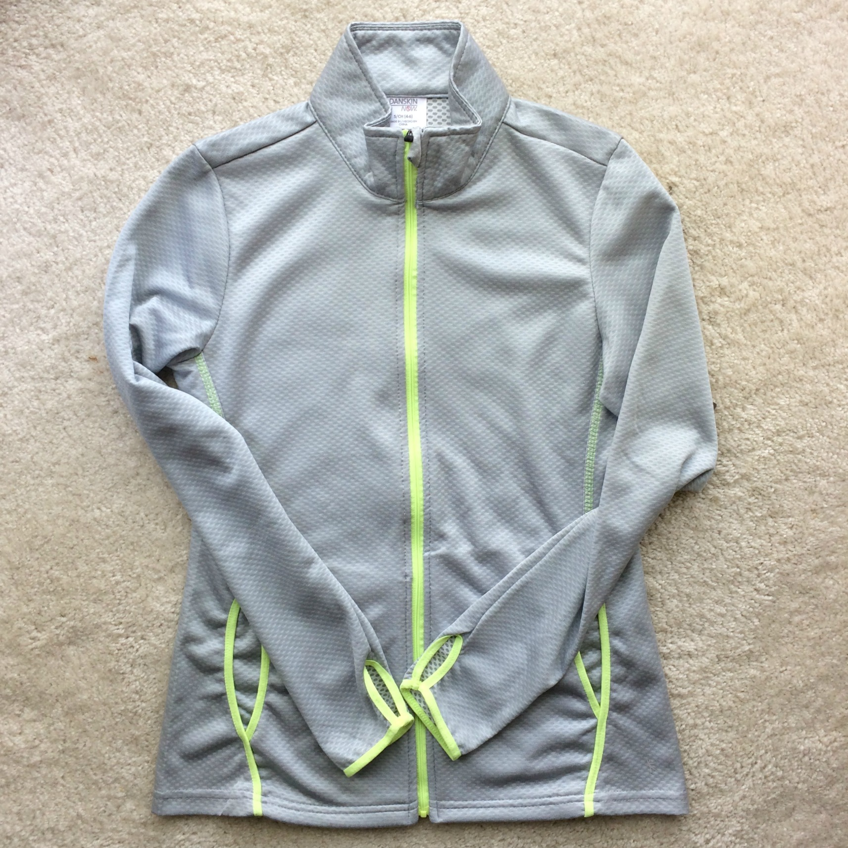 danskin zip up jacket