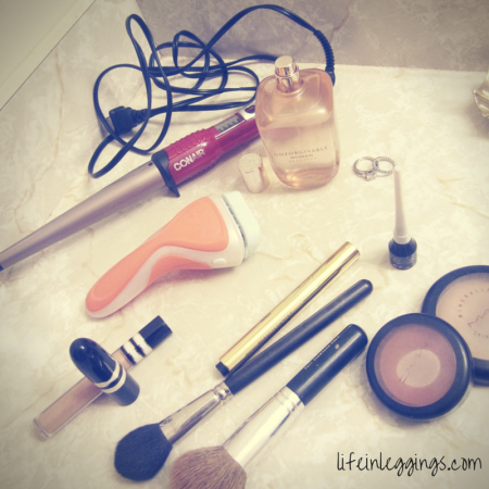 going out routine with schick razors