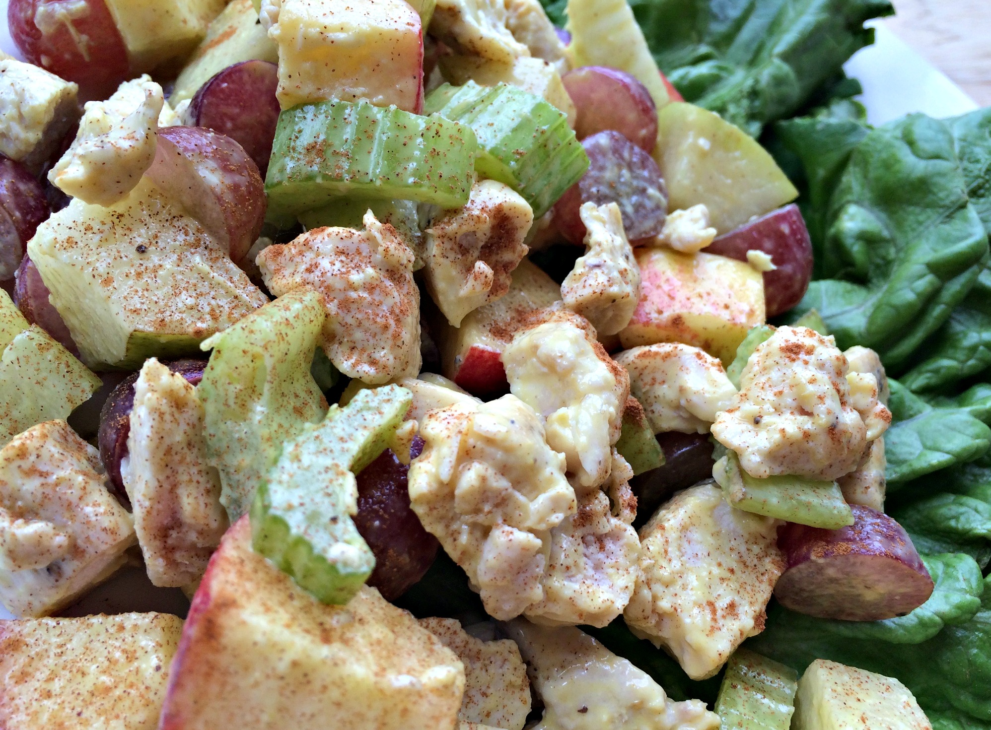 homemade waldorf salad