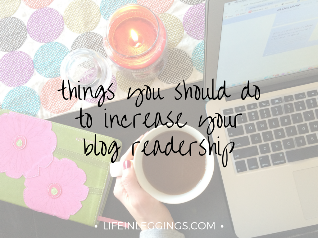 how to increase your blogging readership