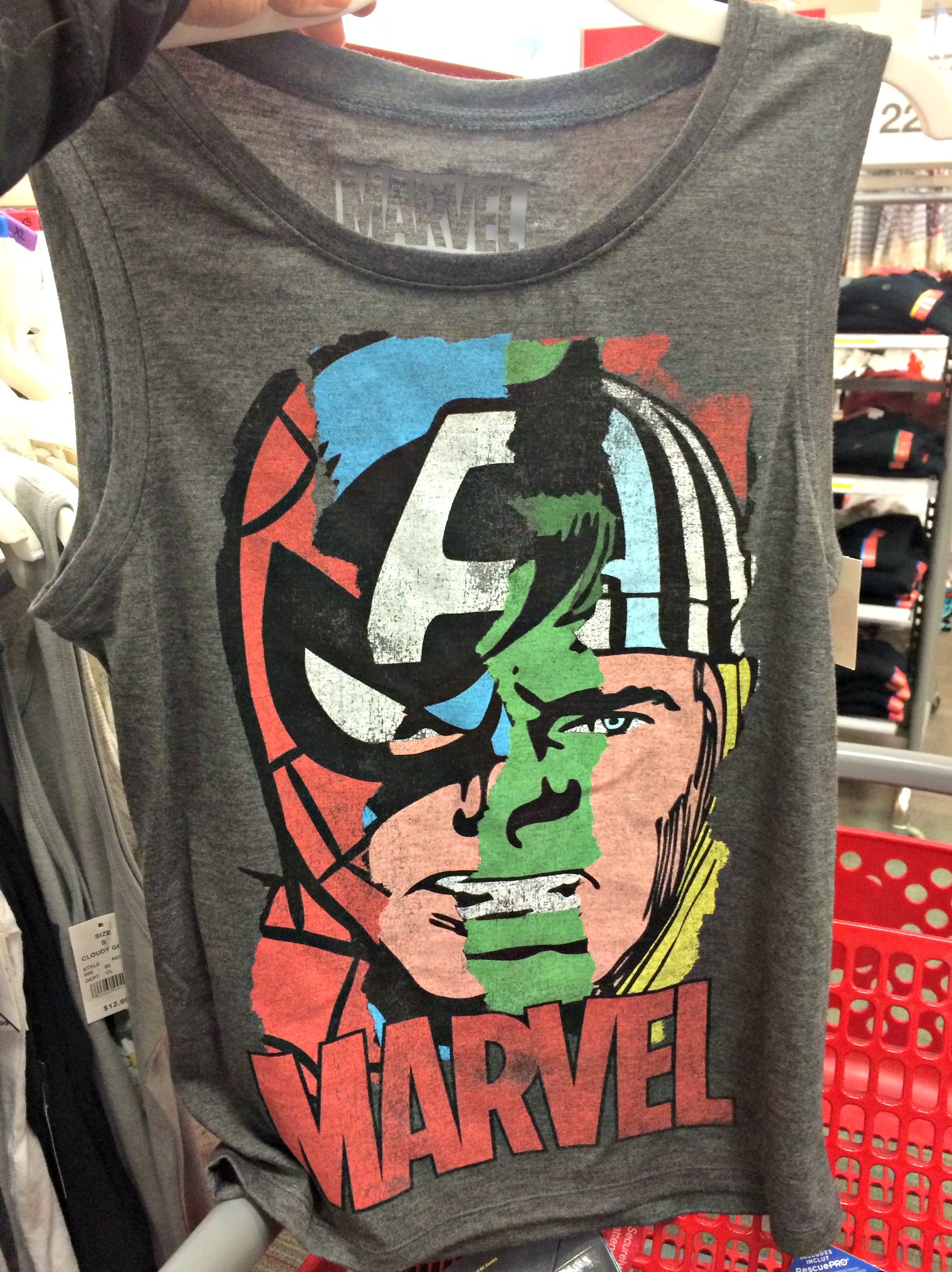 marvel superhero tank