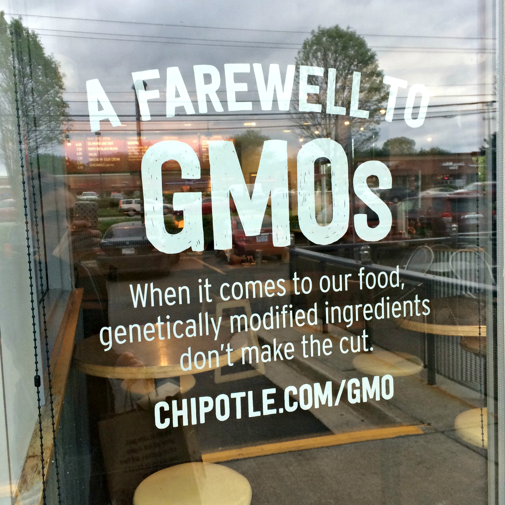 no more GMOs at chipotle