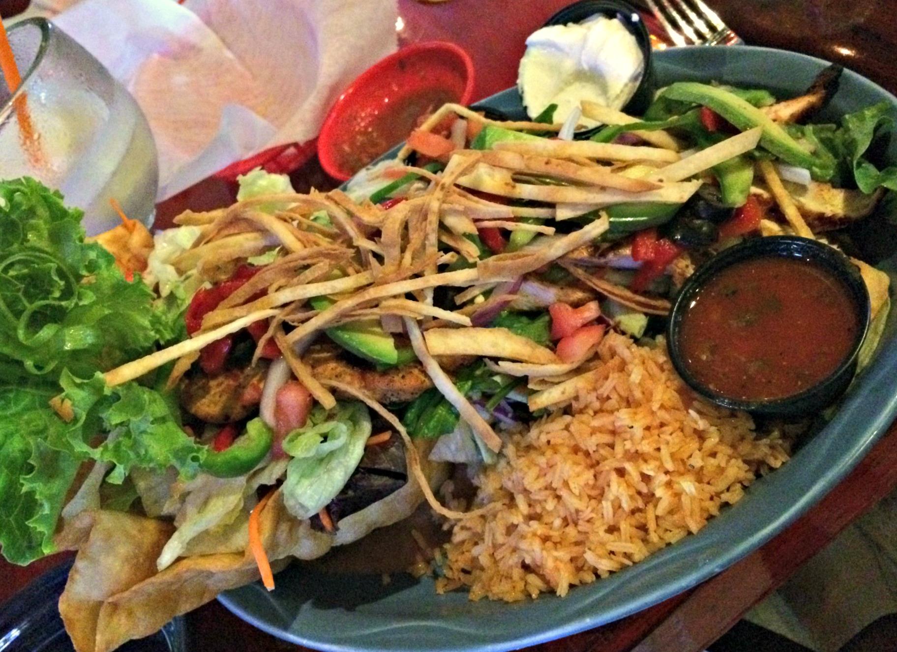 sagebrush fajita taco salad