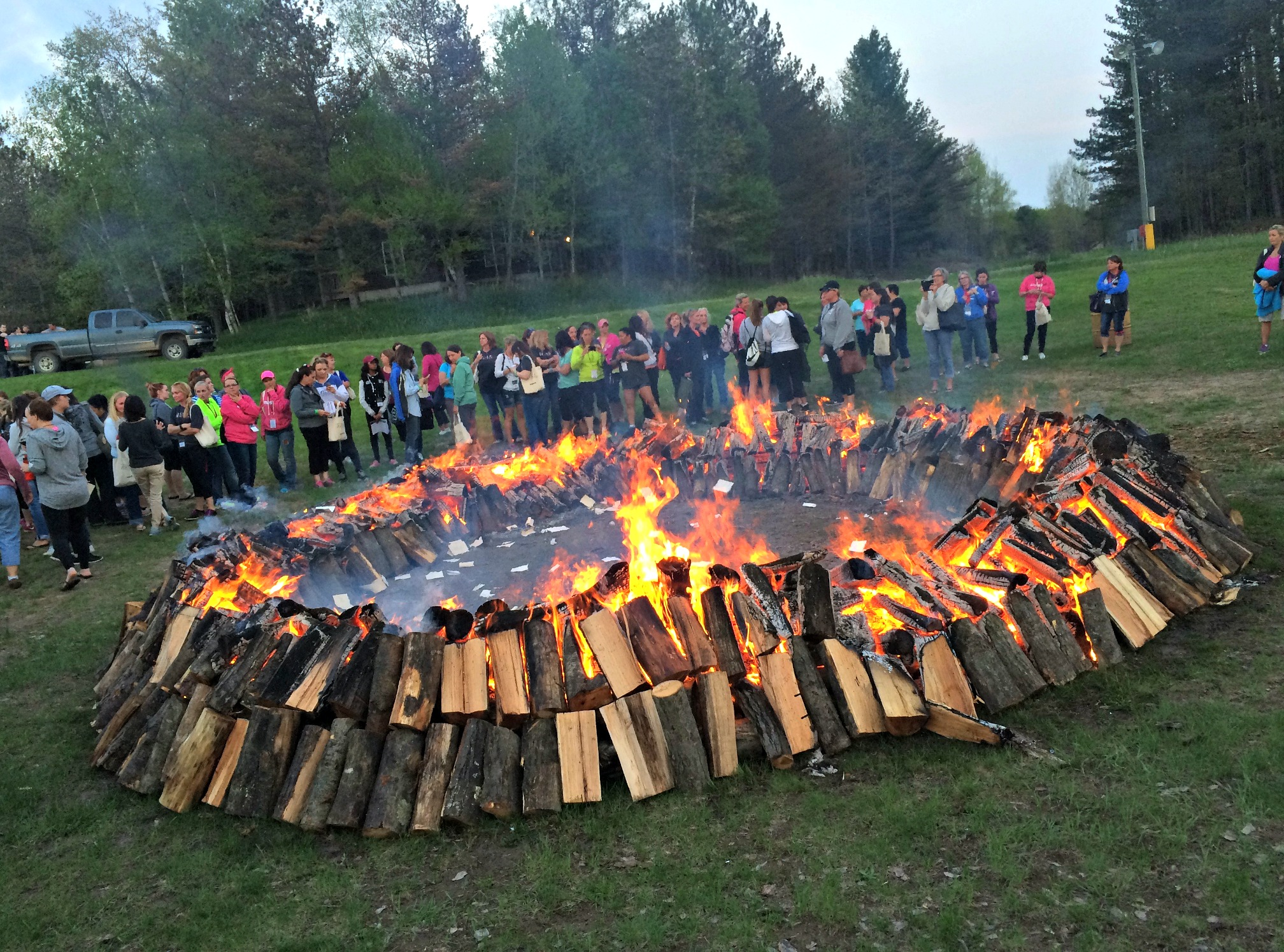 spring hill camp fire