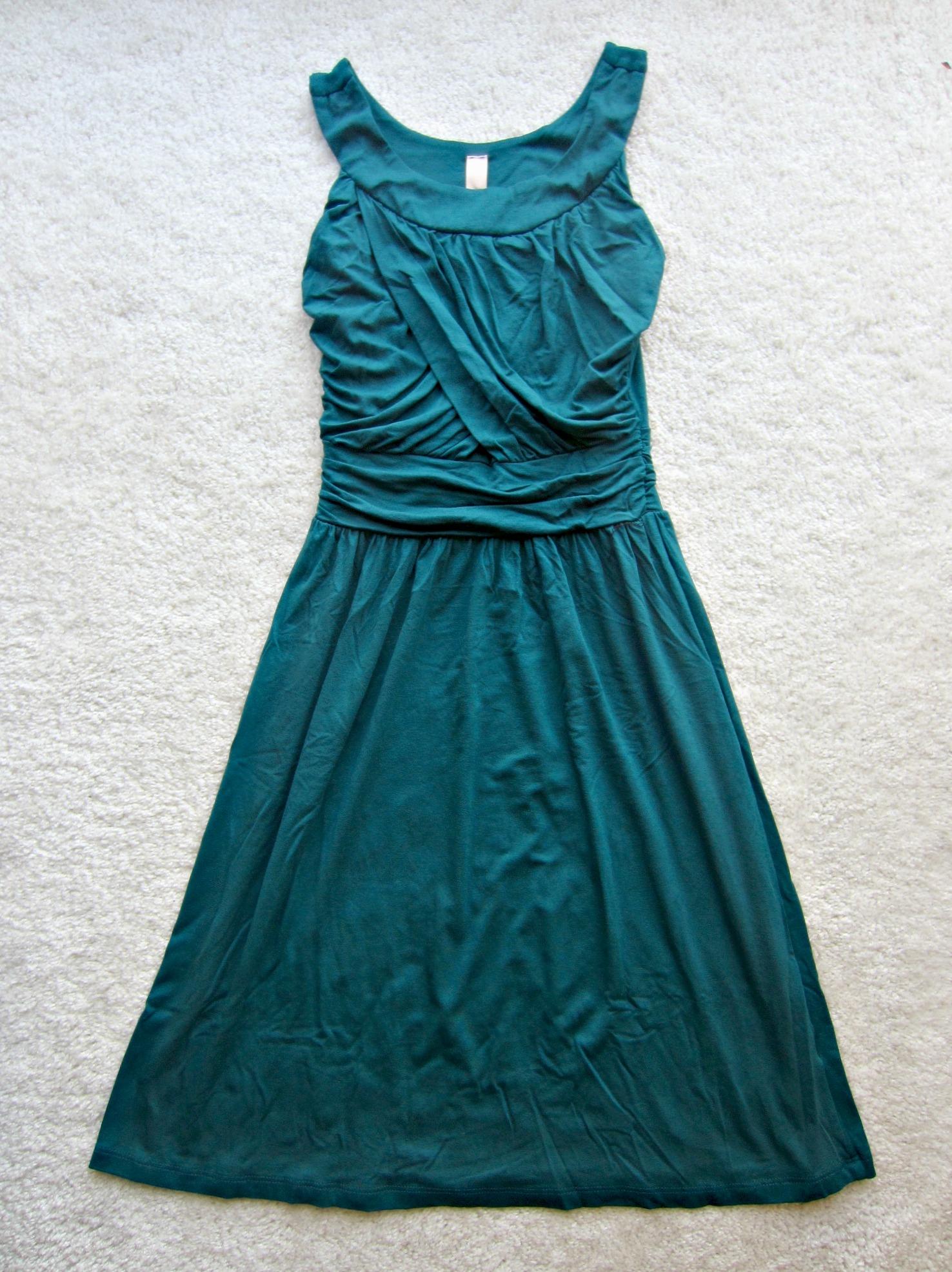 stitch fix gilli gillian sleeveless dress dark green