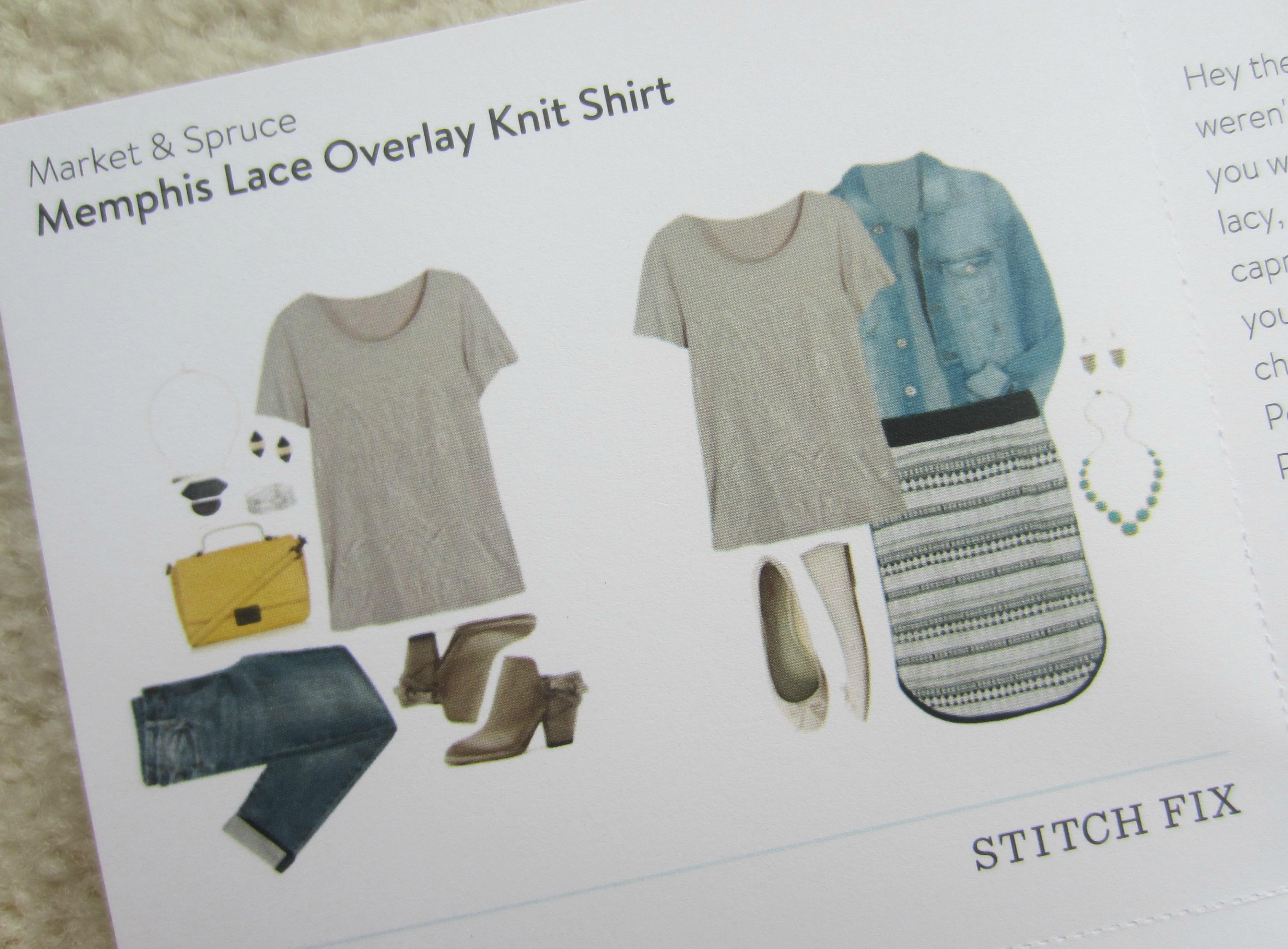 stitch fix styling sheet