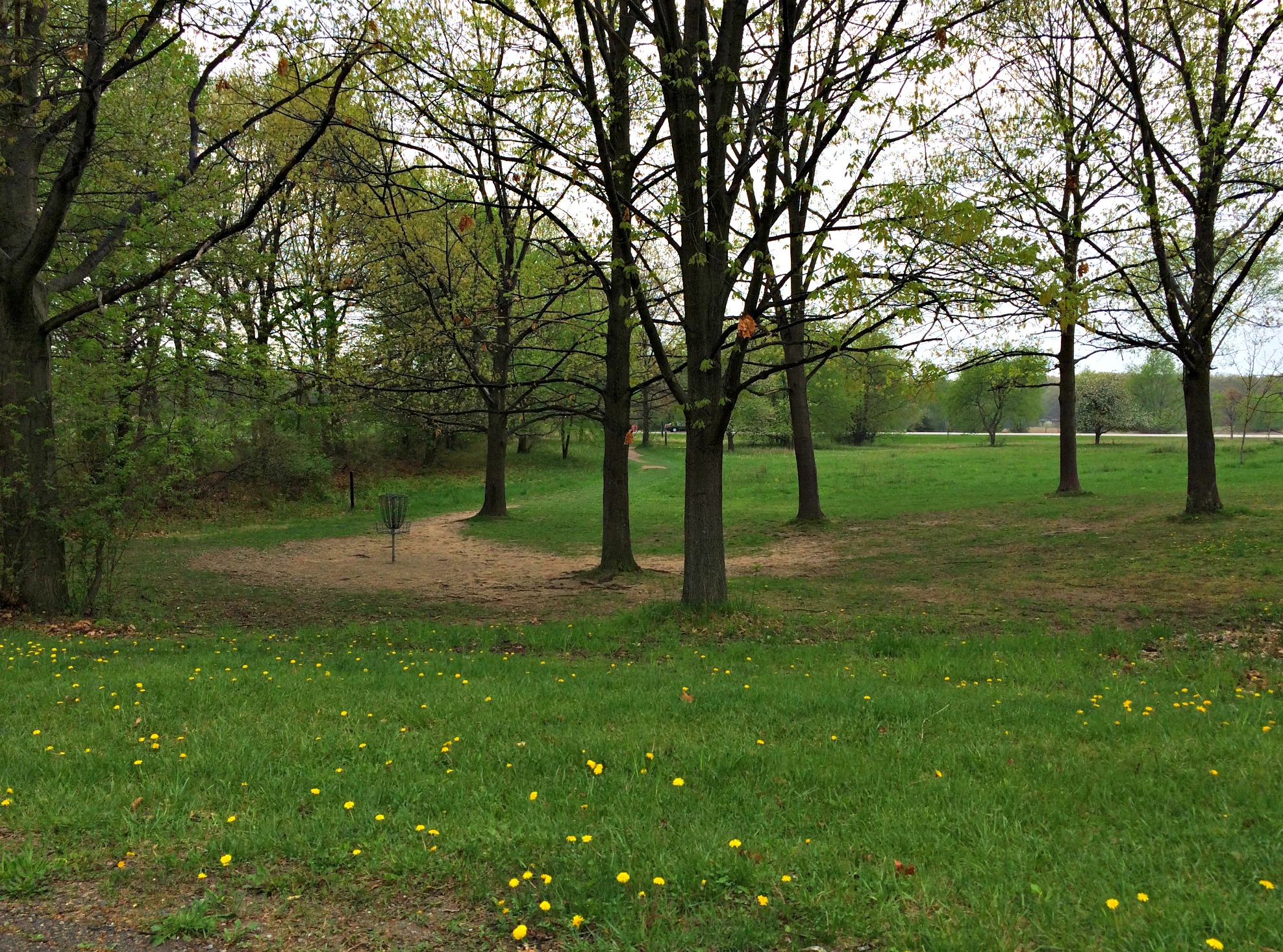 stoney creek metropark disc golf course