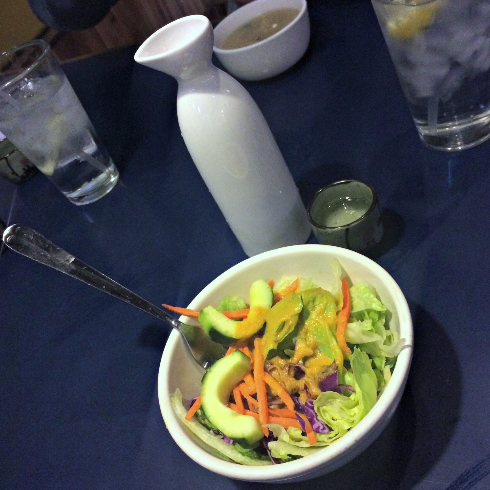 sumo sake and house salad