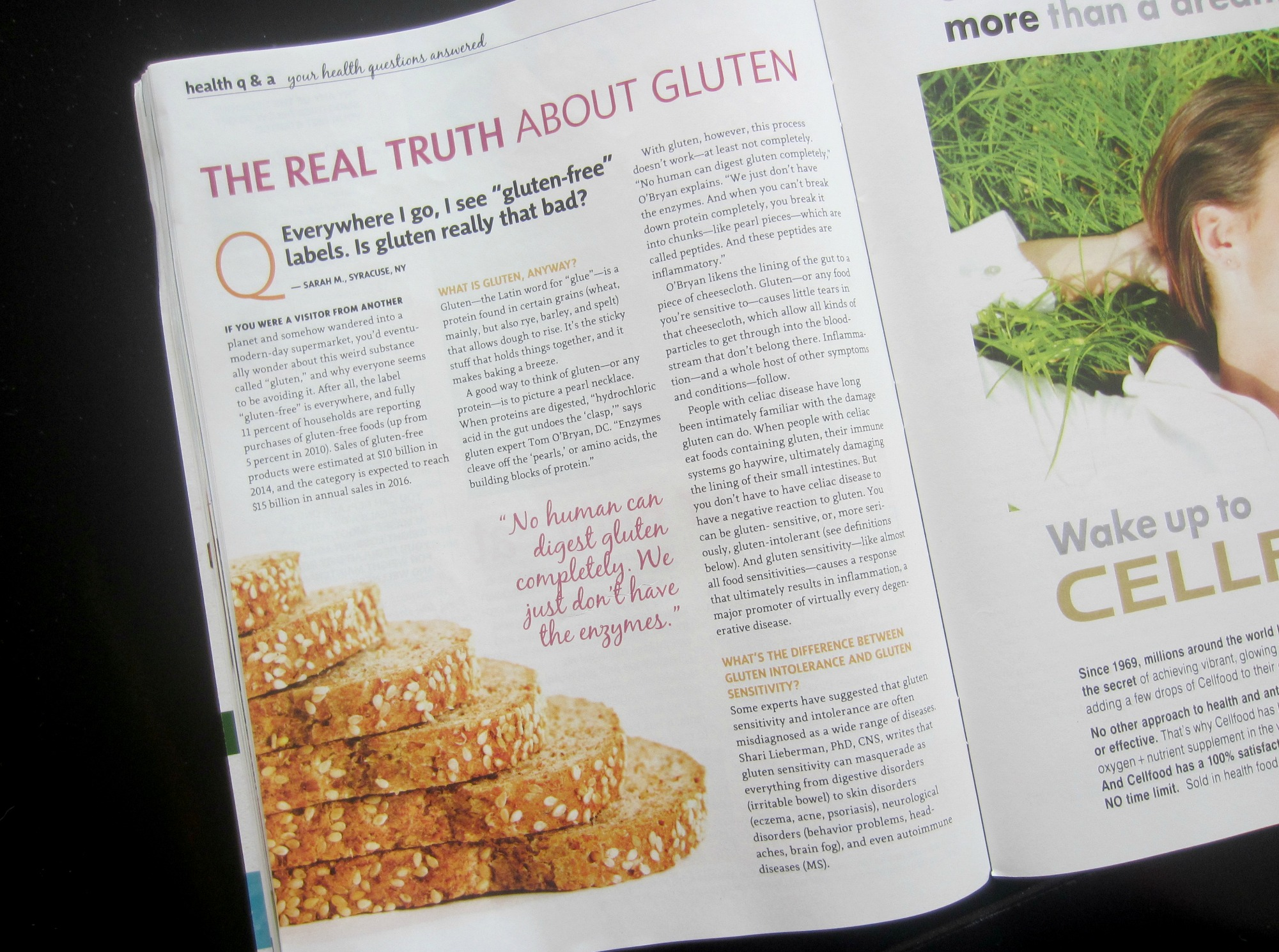 the real truth about gluten amazing wellness