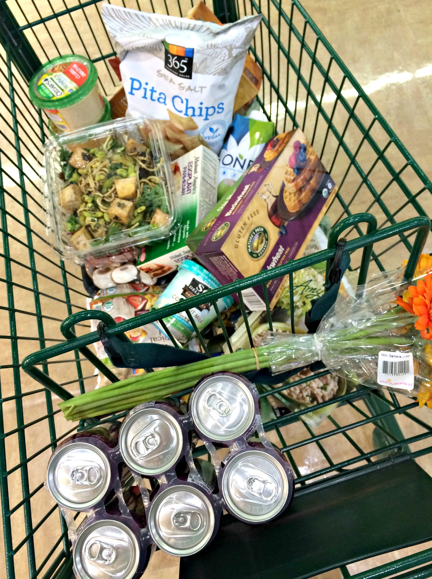 whole foods grocery trip