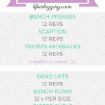 20 Minute Dumbbell Upper Body Workout