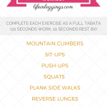 30 Min. Bodyweight Tabata Strength Workout