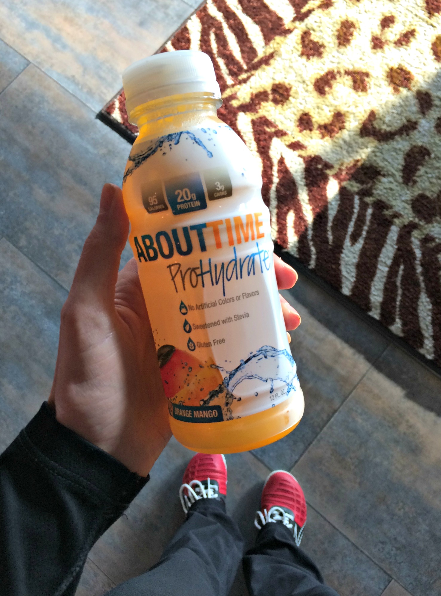 About Time ProHydrate orange mango drink