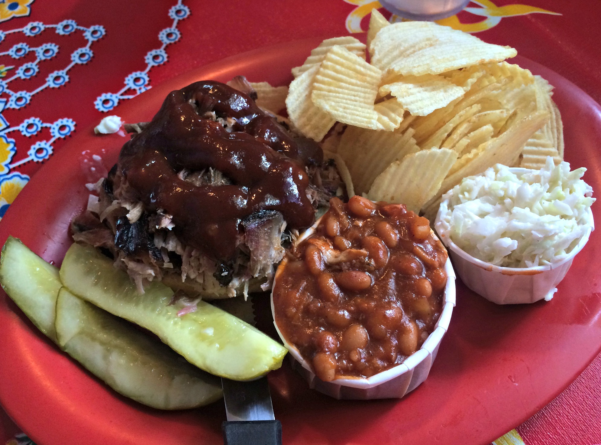 Bubba's Bar-B-Q eureka springs sandwich