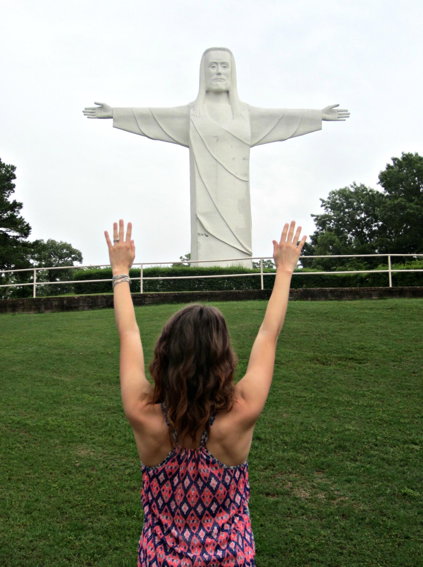 Christ of the Ozarks Statue Eureka Springs 2