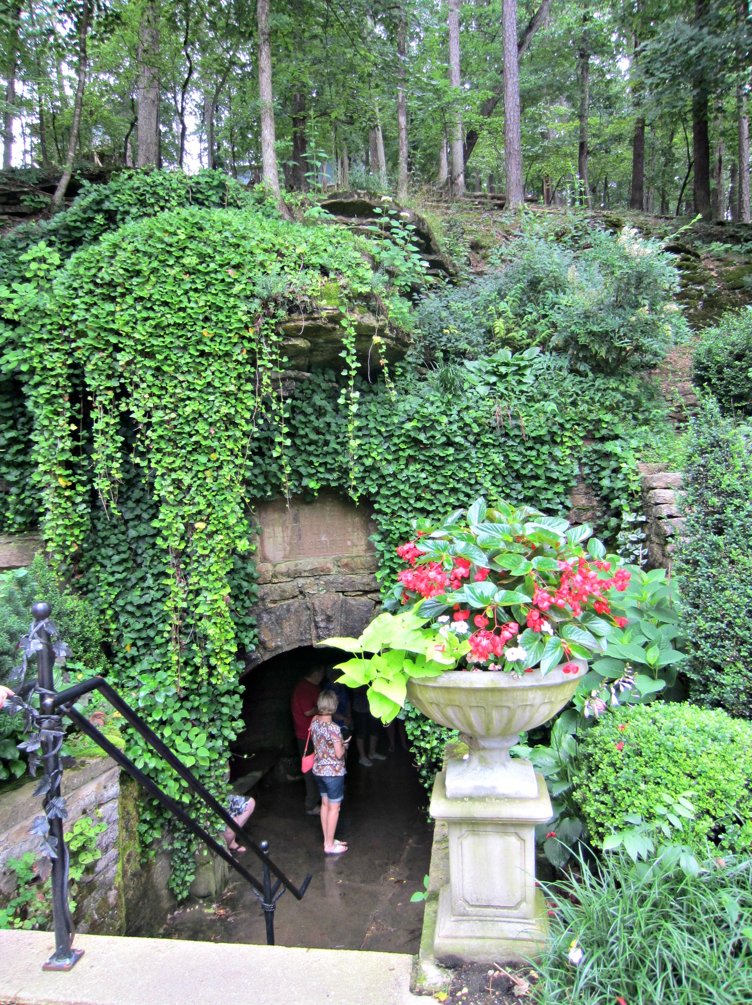 Eureka Springs natural spring