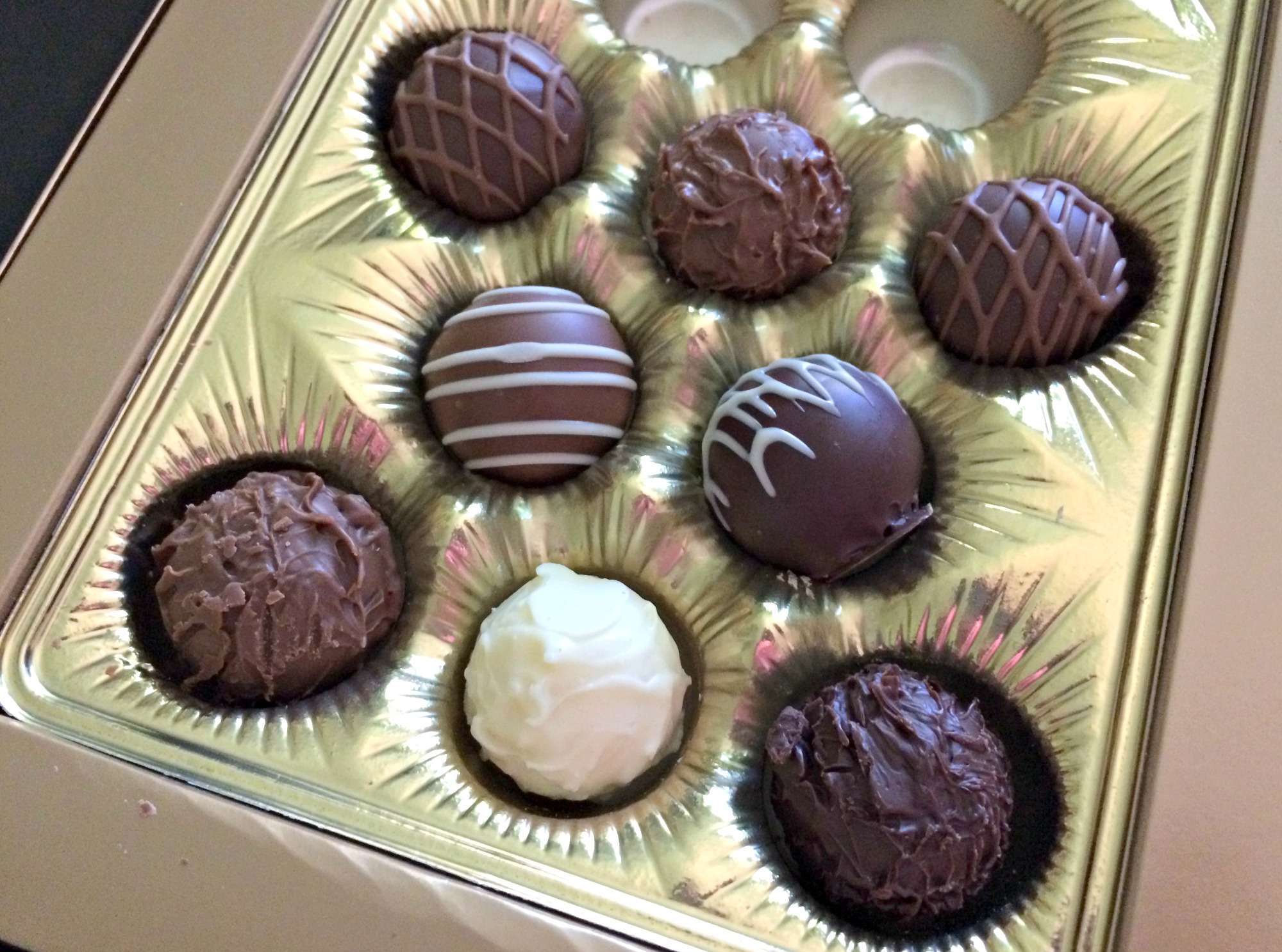 Lindt gourmet chocolate truffles