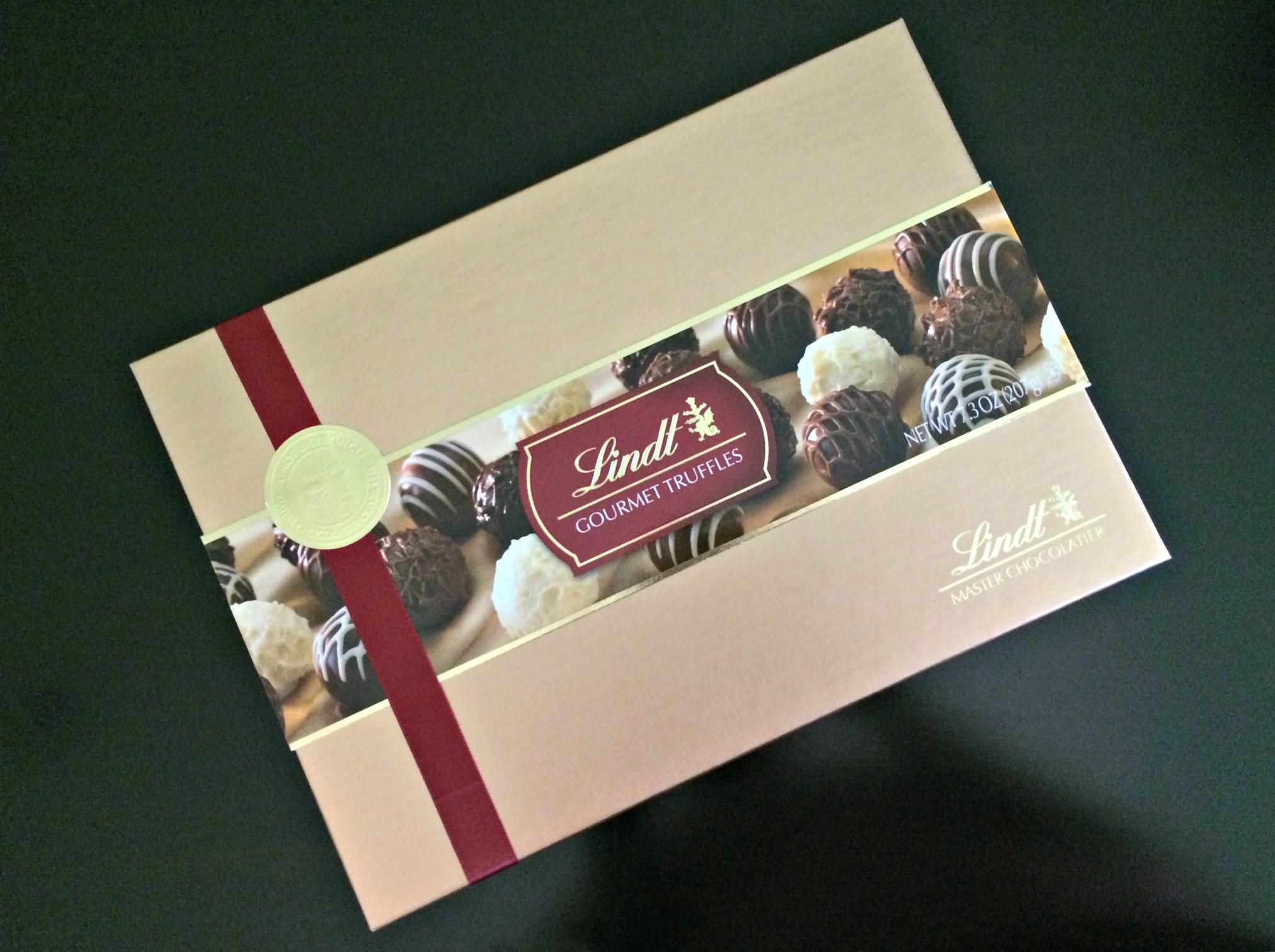 Lindt gourmet truffles