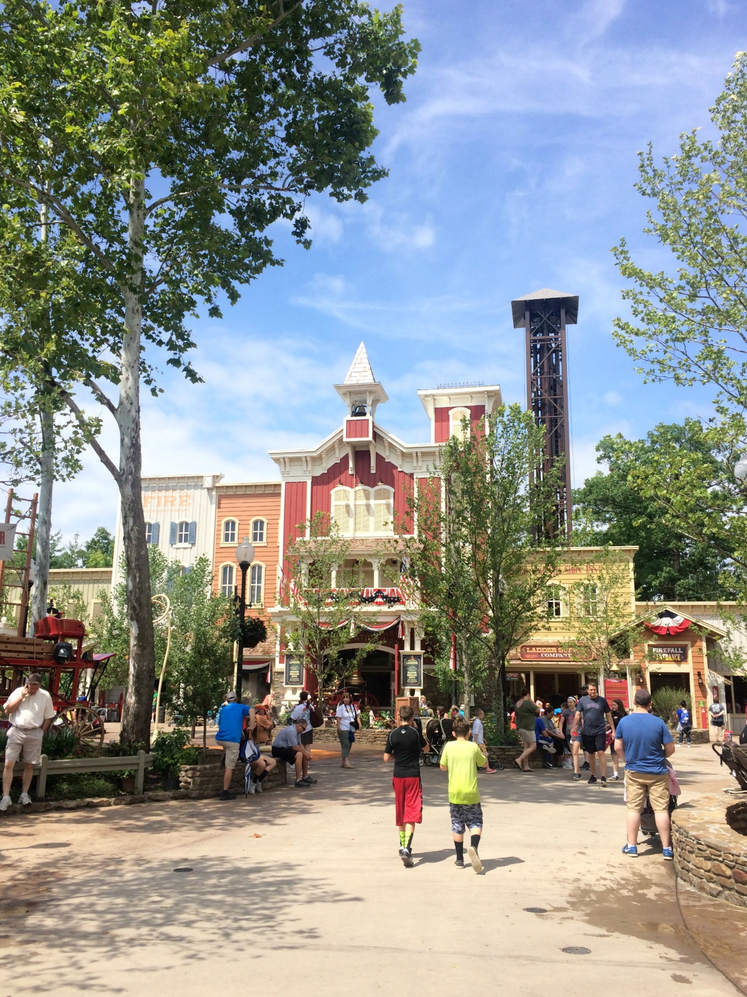Silver Dollar City theme park Branson, Missouri