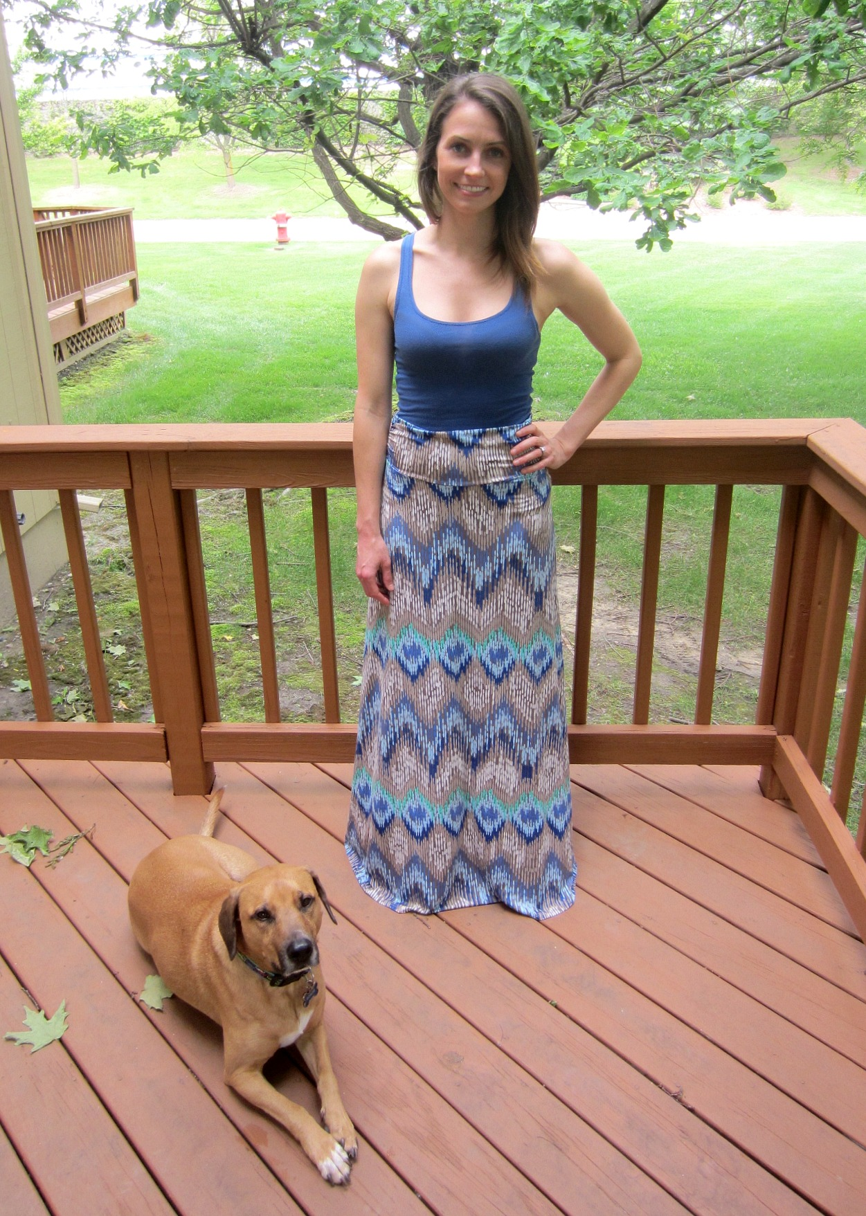 Stitch Fix Gilli Alina Maxi Skirt