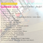 Summer 2015 Workout Playlist