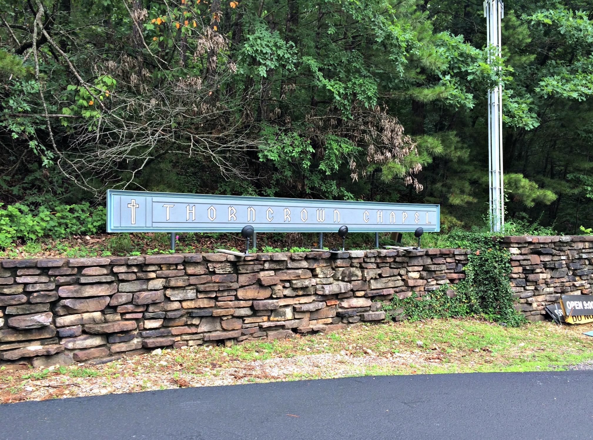 Thorncrown Chapel Entrance - Eureka Springs