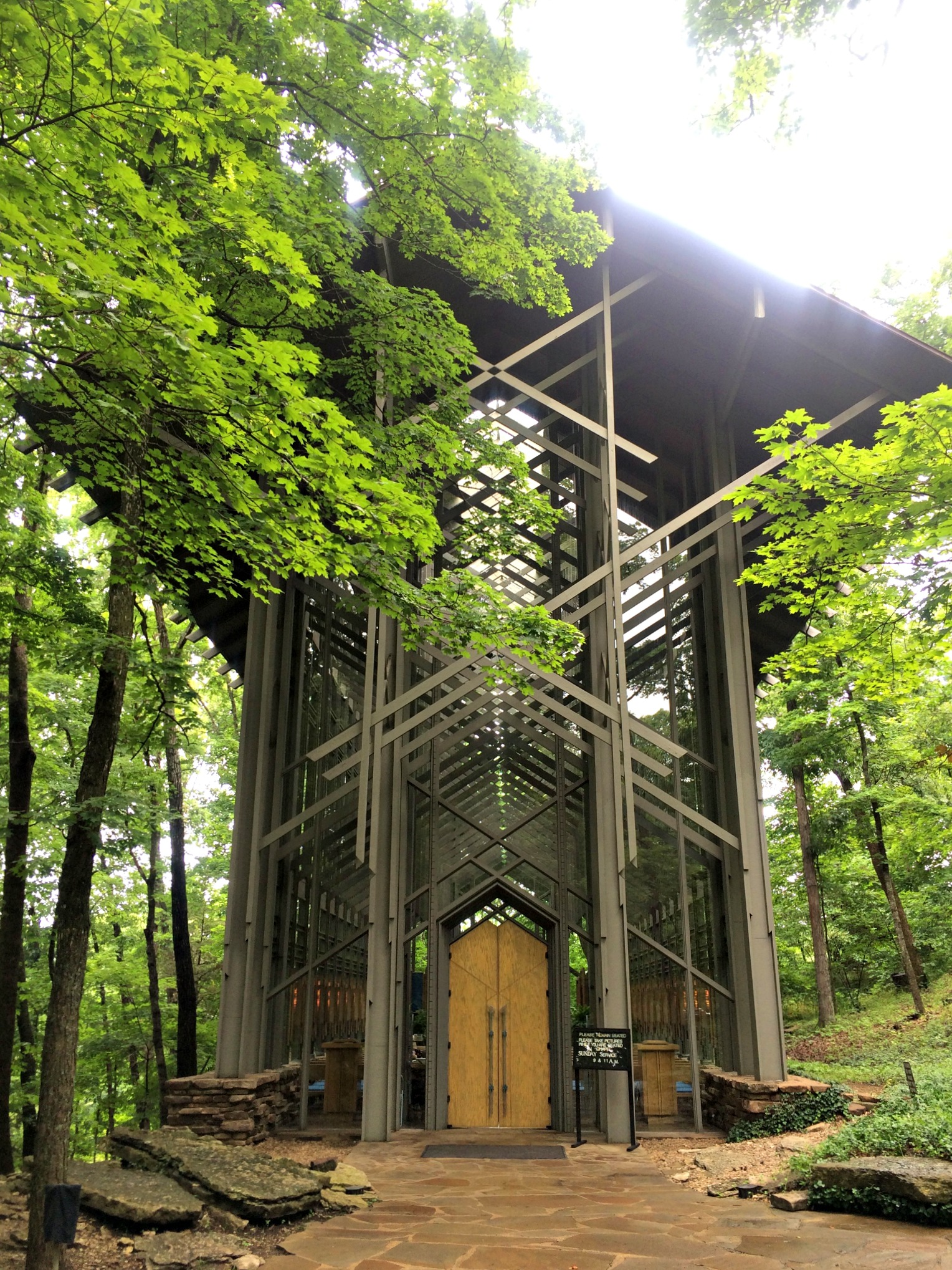 Thorncrown Chapel Eureka Springs, Arkansas
