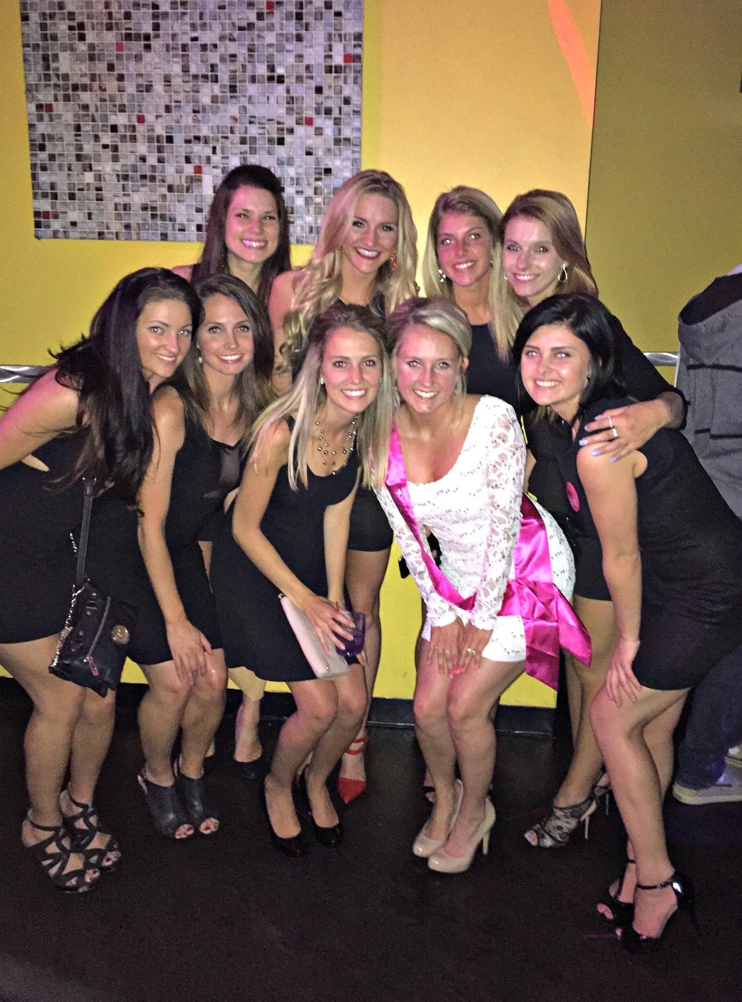 amanda's bachelorette party