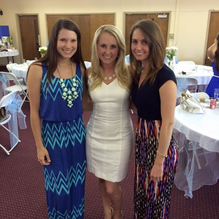 amanda's bridal shower with the bride and alex