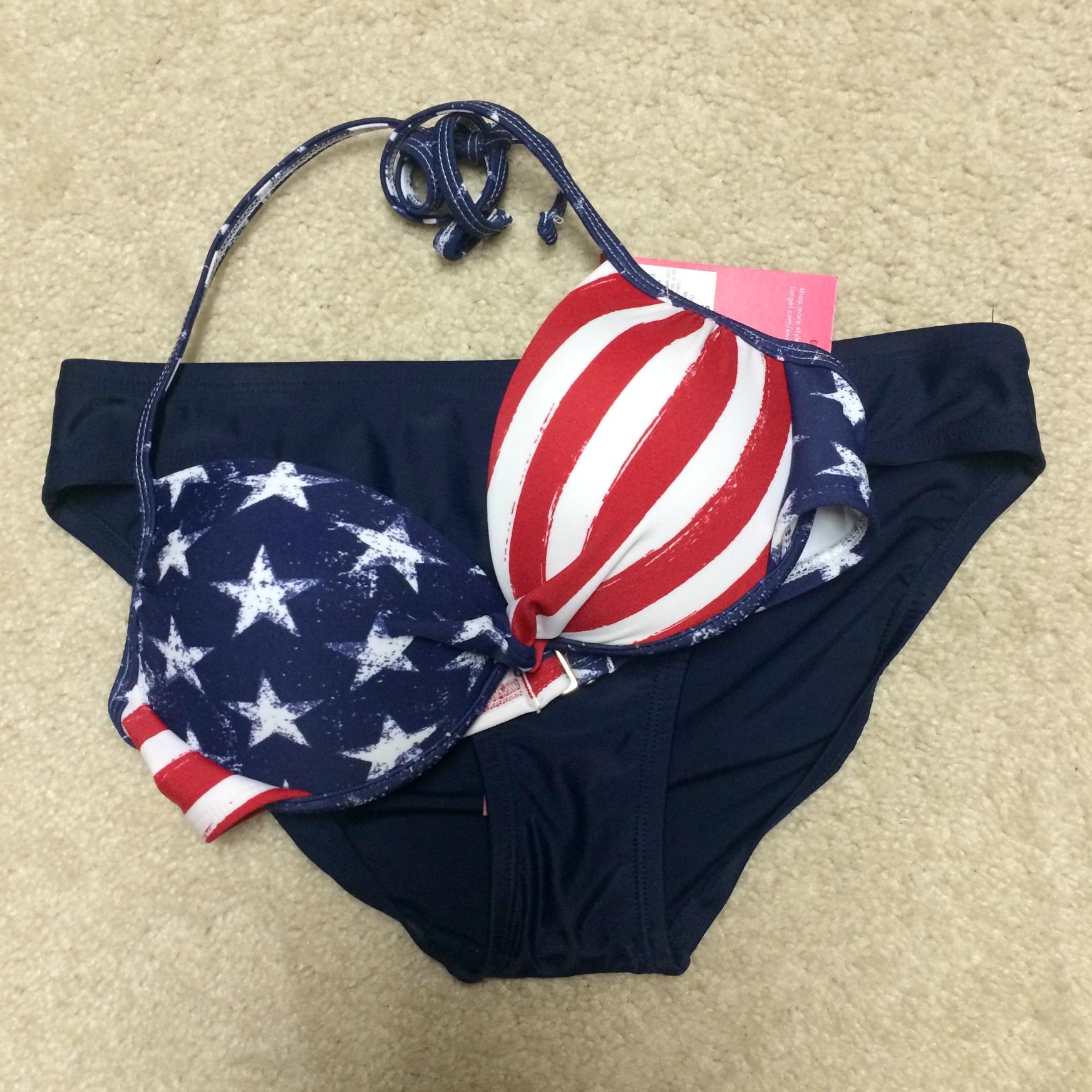 american flag bikini target