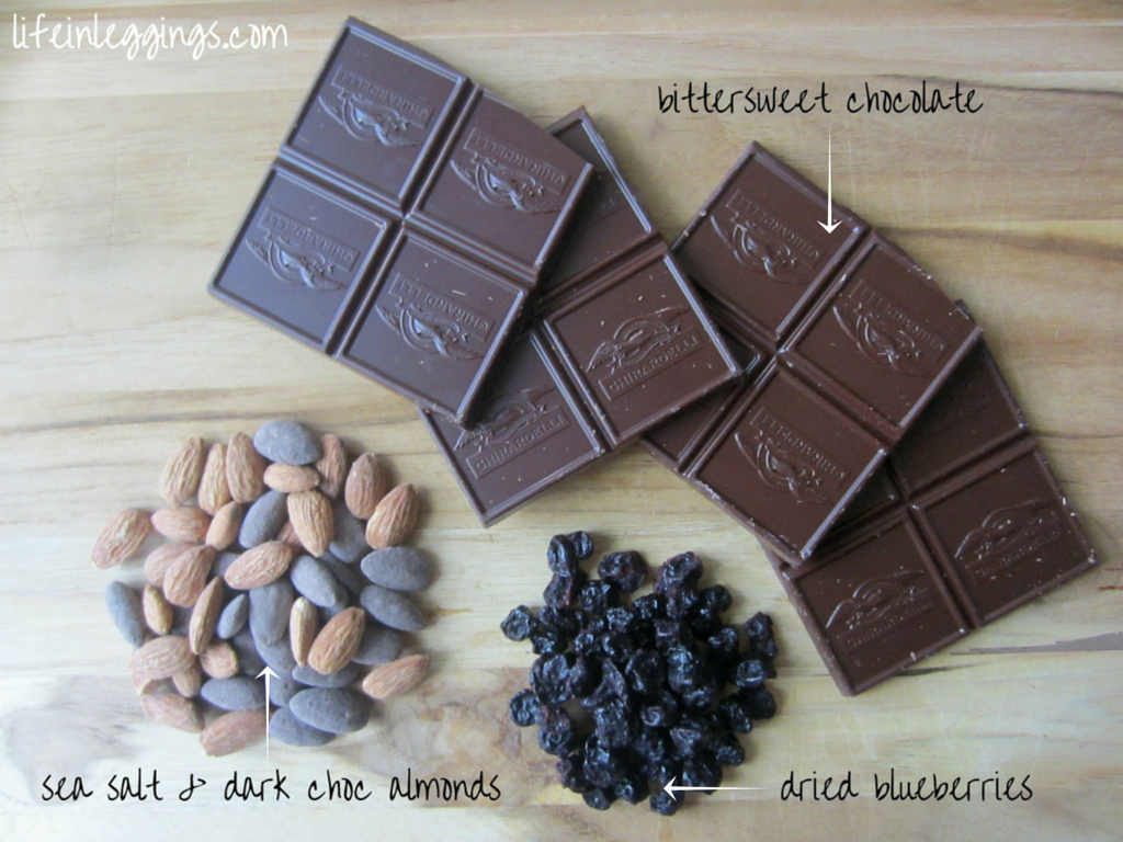 chocolate almond bark ingredients