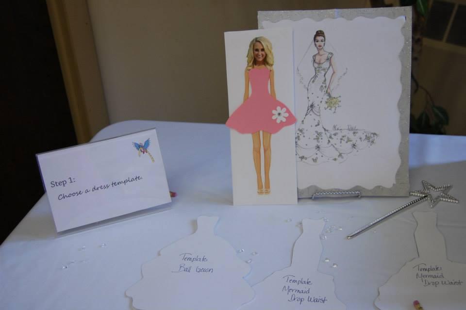 design a dress for the bride game