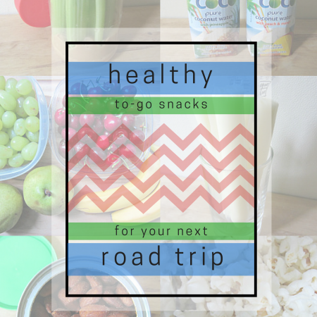 healthy to-go snacks for your next road trip
