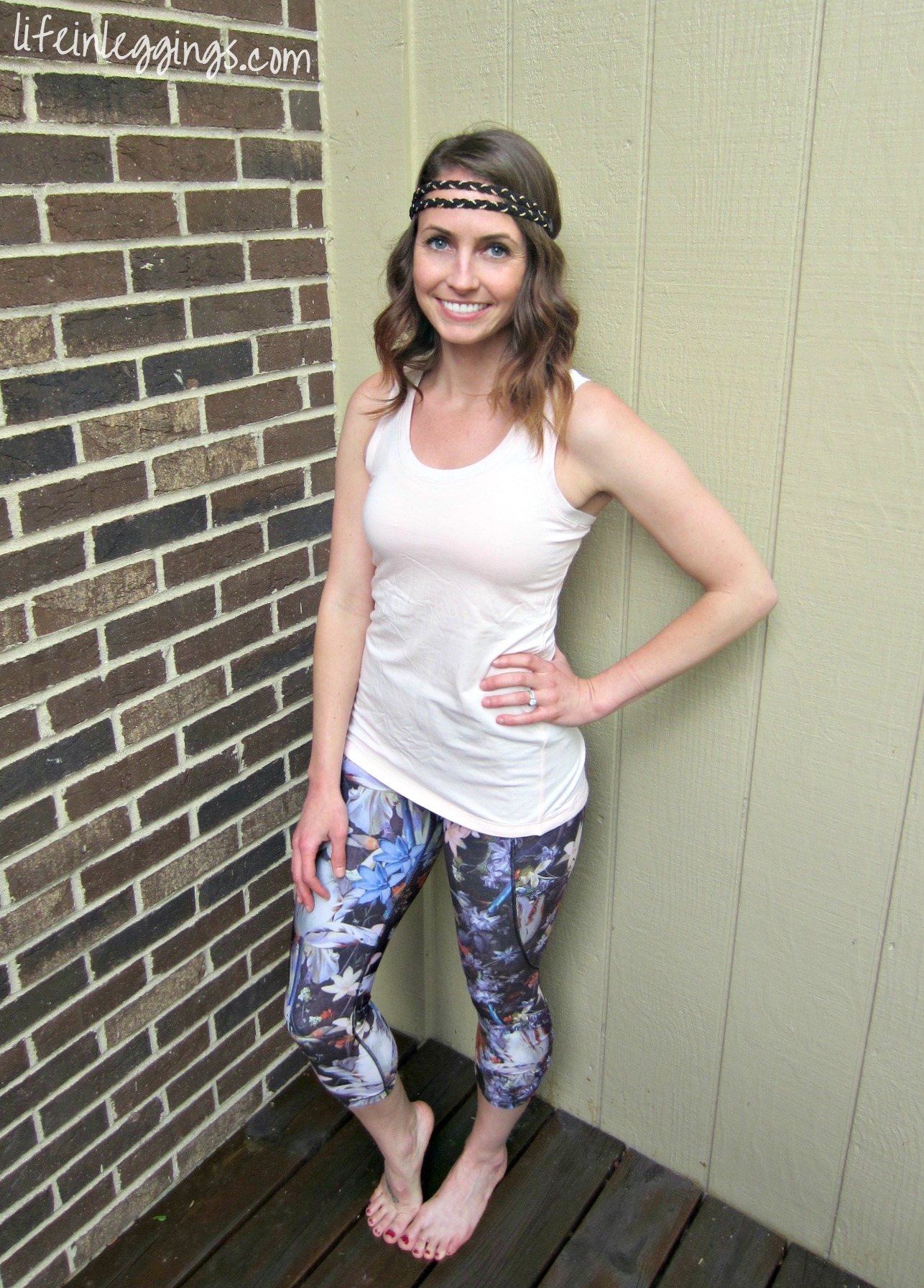 heather in CALIA by carrie underwood workout line