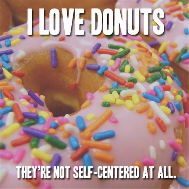i love donuts funny