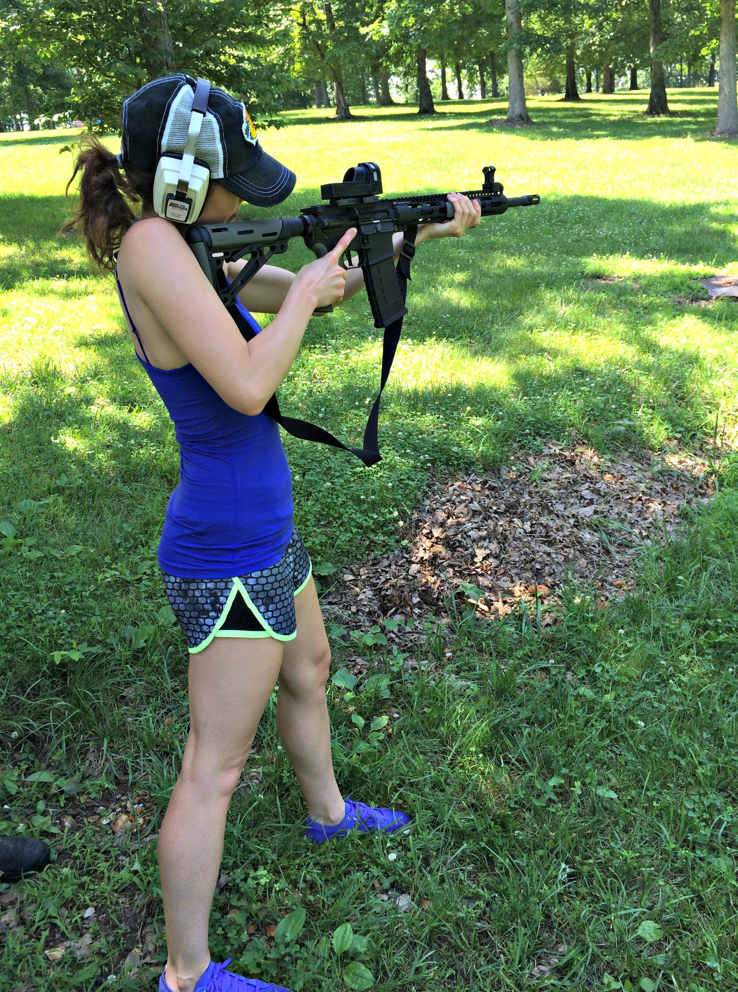 learning how to shoot
