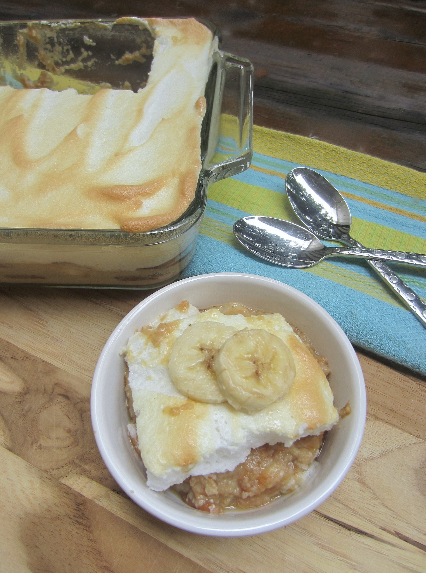 lightened up banana pudding recipe