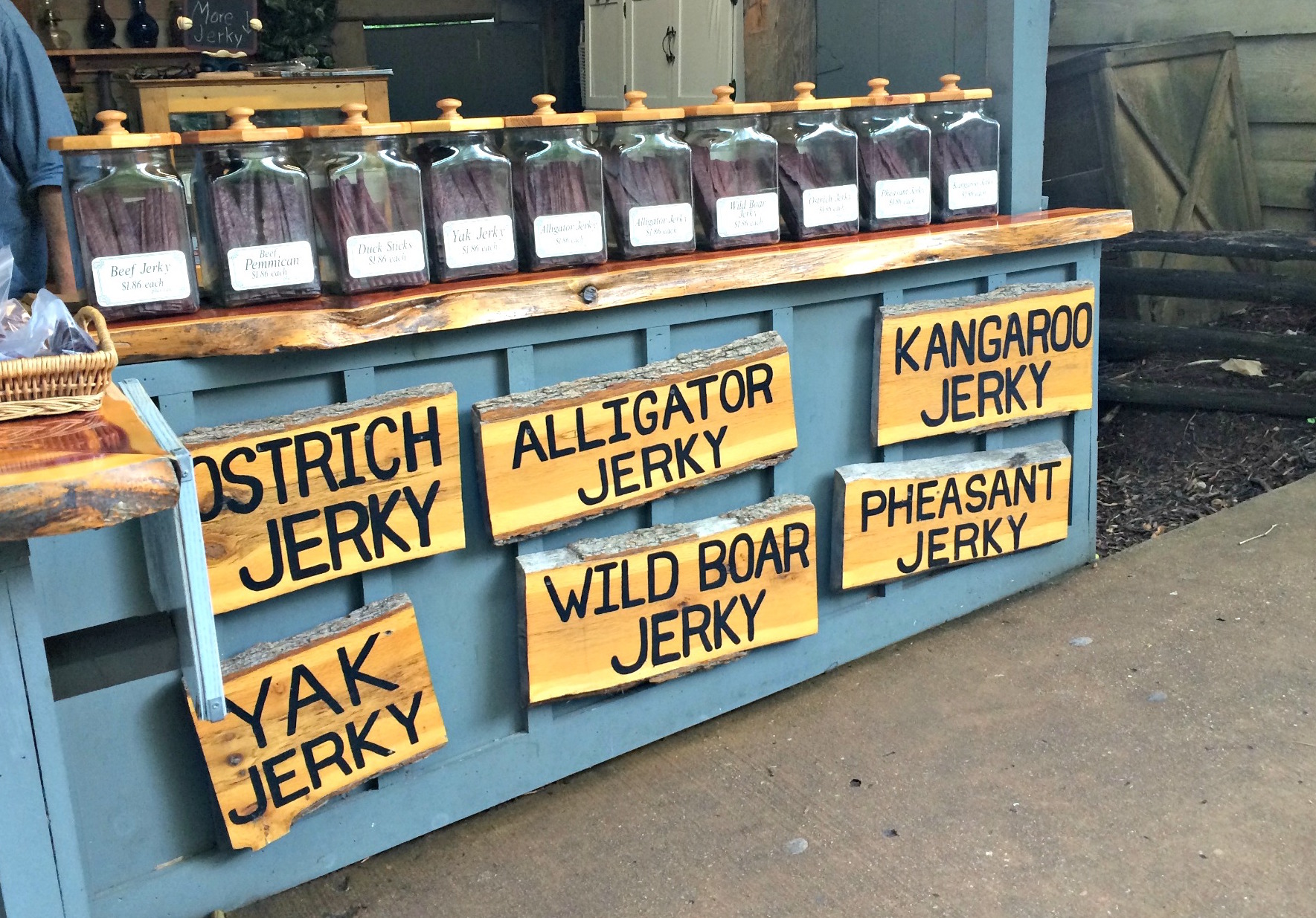 silver dollar city specialty jerky