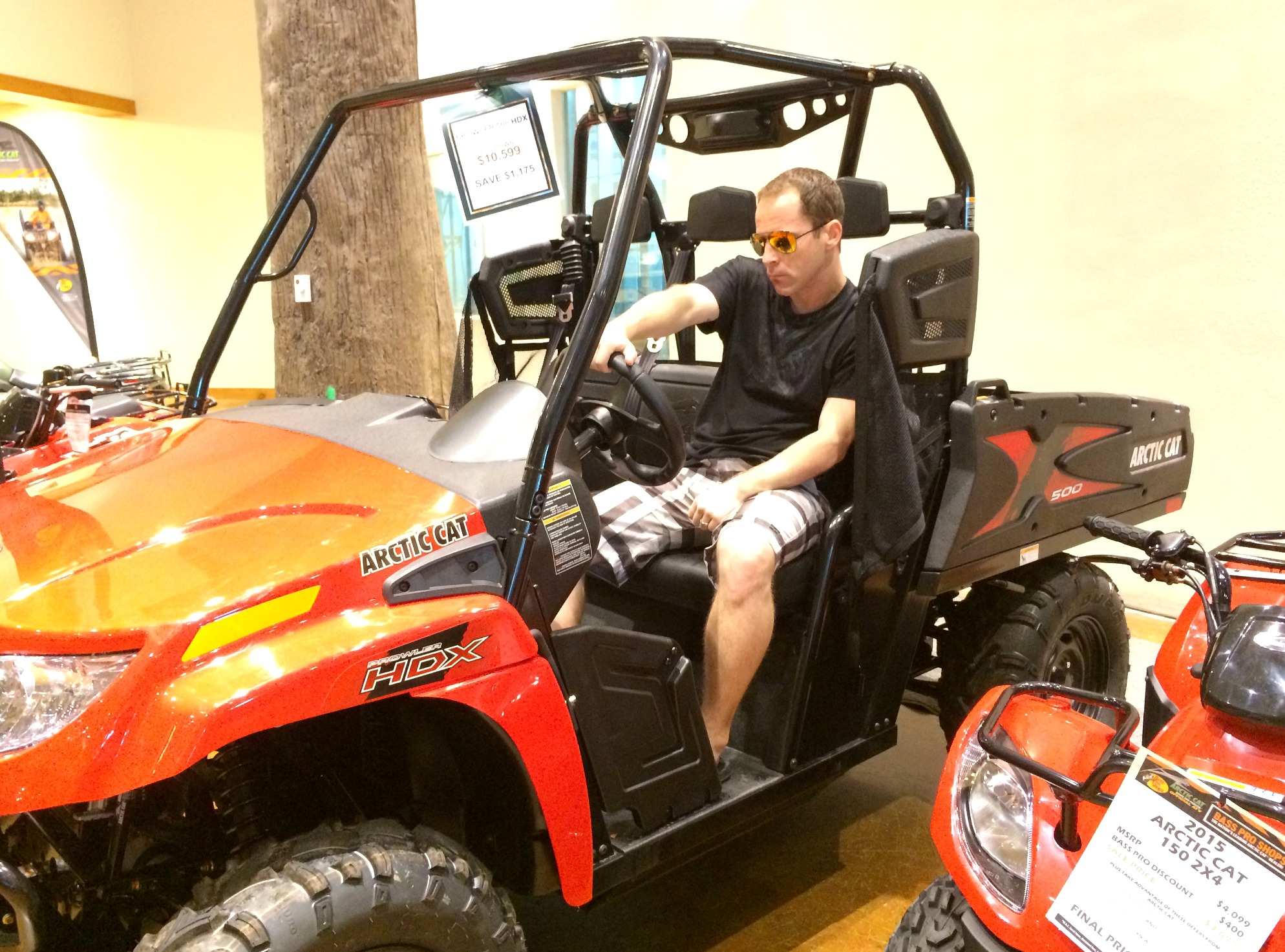 soctt on arctic cat bass pro shops