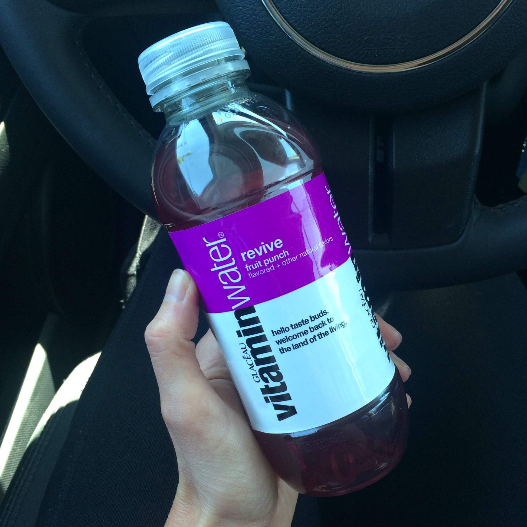 vitaminwater revive fruit punch