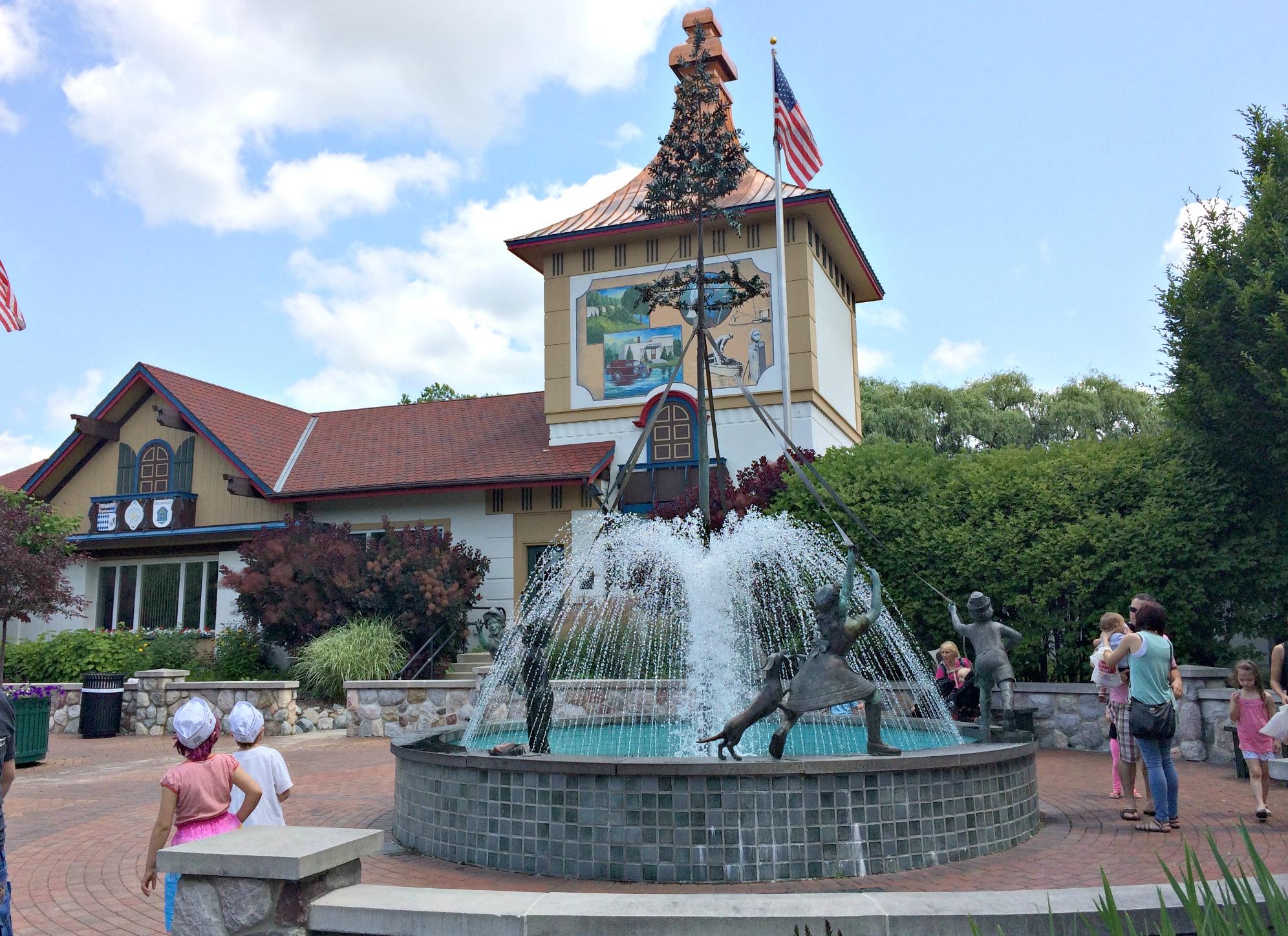 Frankenmuth fountain