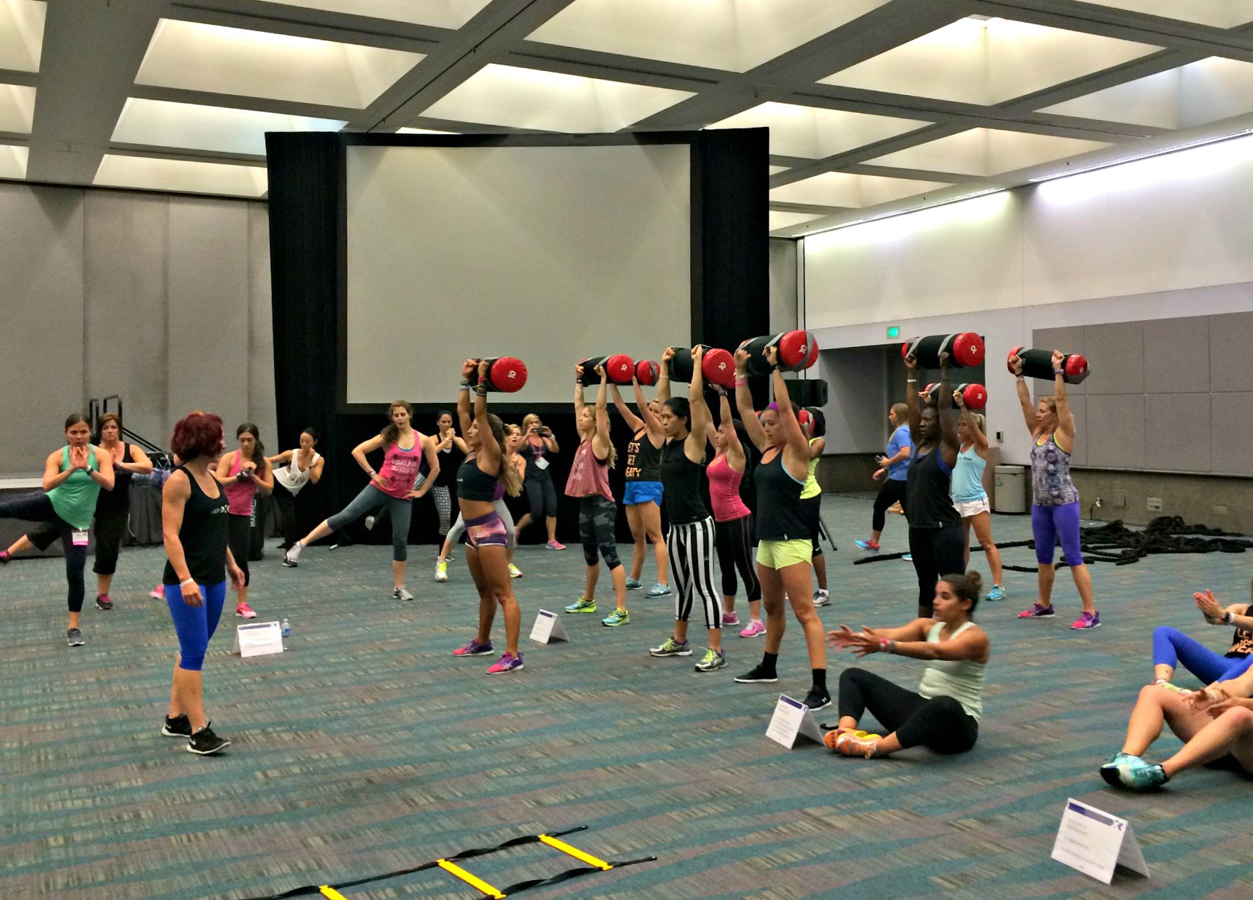 HIGH X workout with Gabby Reece